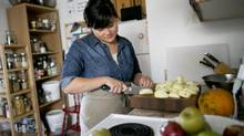 Melissa Yu prepares a Thanksgiving dinner that's equal parts traditional and modern. Melissa K. Yu prepares pies at her home in the Bloor-Dovercourt area in Toronto, Ontario Friday, October 11, 2013. She adapts Thanksgiving through both Chinese traditions and broader multicultural and culinary options. (Kevin Van Paassen/The Globe and Mail) (Kevin Van Paassen/The Globe and Mail)