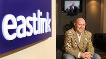 Lee Bragg ,CEO of Eastlink, at his corporate office in Halifax, November 20, 2012 . Eastlink unveiled an app Thursday that will allow users to stream live television and on-demand content on smartphones, tablets and computers. (PAUL DARROW For The Globe and Mail)