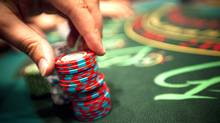 A blackjack table at the River Rock Casino in Richmond, B.C. (JOHN LEHMANN/John Lehmann/The Globe and Mail)