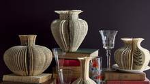 Lisa Occhipinti's Narrative Vases are often made with illustrated books. (Lisa Occhipinti/Lisa Occhipinti)