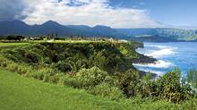 The Makai Golf Course in Kauai offers wider landing areas, softer contouring around the greens and a cutback in the density of jungle off the fairway. (Aidan Bradley)