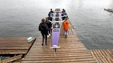 Students take part in the TDSB rowing program at the Bayside Rowing Club on April 27, 2011. (Peter Power/The Globe and Mail/Peter Power/The Globe and Mail)