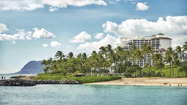 Hawaii, Oahu at Ko Olina.
