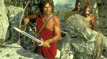 Harry Hamlin as Perseus in the 1981 version of Clash of the Titans.