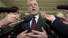 Newly elected Quebec Liberal Party Leader Philippe Couillard has proposed a new round of talks that would allow Quebec to sign the Constitution by 2017. (Jacques Boissinot/THE CANADIAN PRESS)