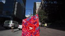 A Canada Post box outside Scotia Plaza in Toronto on July 15 2014. (FRED LUM/THE GLOBE AND MAIL)