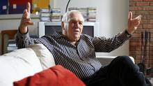 Former NDP leader Ed Broadbent gives an interview at his Ottawa home on March 14, 2012. (Blair Gable/Blair Gable for The Globe and Mail)