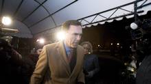 Finance Minister Bill Morneau arrives for a dinner with provincial and territorial finance ministers on Sunday, Dec. 18, 2016, ahead of a Monday meeting at Ottawa's Château Laurier hotel. (Justin Tang/THE CANADIAN PRESS)