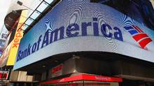 A Bank of America banking center in Times Square in New York. (REUTERS)