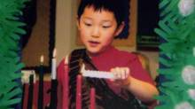 Victim of domestic violence Christian Lee in a school photo from April 28, 2008, in Victoria.