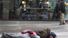 Homelessness could be among the social problems that university and college students tackle under the Recode social innovation project. (Peter Power/The Globe and Mail)