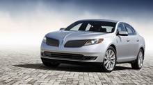 2013 Lincoln MKS. (Ford)