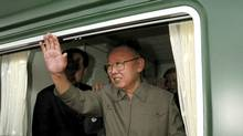 A May, 2010, handout photograph of reclusive North Korean dicator Kim Jong-Il. (KNS/KNS/AFP/Getty Images)