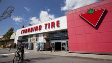 A Canadian Tire store is seen in North Vancouver, B.C. (JONATHAN HAYWARD/THE CANADIAN PRESS)