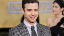 Justin Timberlake will perform at the Grammy Awards show in Los Angeles on Feb. 10. (CHRIS PIZZELLO/AP)