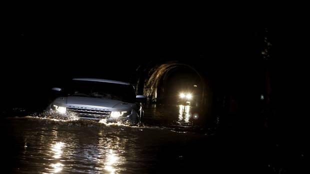 "The Evoque has all-weather, multi-terrain capability with ""Terrain Response,"" to suit terrain conditions. (Land Rover)"
