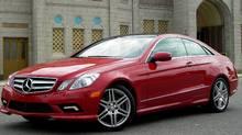 Compact Premium Sporty: 2010 Mercedes E-Class Coupe