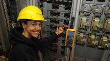 At Manitoba Hydro, hiring more women into trades-related careers is a recruitment strategy. (Mario Palumbo)