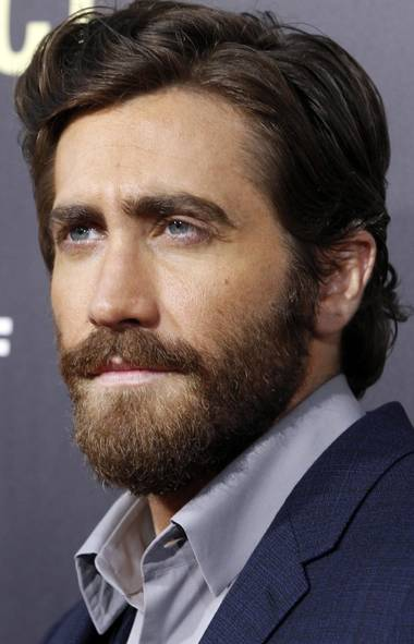 """Jake Gyllenhaal's steely-eyed gaze and impeccable grooming welcome you to our Fall Fashion Issue and remind you why you probably won't be seeing your face in this gallery at the premiere of the film """"End of Watch"""" in Los Angeles on Monday. (Reuters)"""
