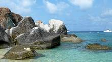 The Baths on Virgin Gorda are a labyrinth of grandite boulders and grottos. (Olivia Stren for The Globe and Mail/Olivia Stren for The Globe and Mail)