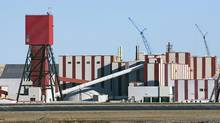 The exterior of the Potash Corp. plant near Rocanville, Sask., about 250 kilometres east of Regina. (Troy Fleece/The Canadian Press)