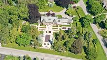 Michael Lee-Chin's Burlington, Ont. home, now on up for sale with a price tag of $4.985-million.