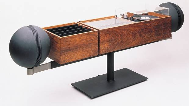 """The G2 Stereo, manufactured by Toronto's Clairtone Sound Corporation, was displayed in something called the """"Canadian Cottage"""" display at the XIII Milan Triennale, one of the world's top design show of its time. """"It says something that all the furniture in the cottage had a Scandinavian influence,"""" notes Prokopow."""