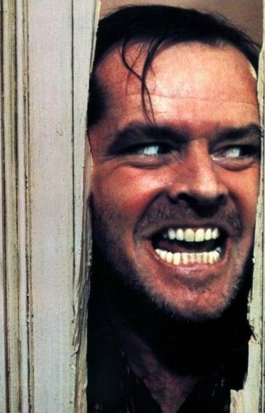"Jack Torrance (The Shining) If Jack Nicholson ever read the Stephen King bestseller on which this 1980 thriller was based, it wasn't evident in his performance. The Jack Torrance of the novel was a self-pitying, weak-willed academic who was possessed by the creepy Outlook Hotel, but in the end at least allowed some form of pathetic absolution. In the film, director Stanley Kubrick gave Nicholson free reign, so his version of Jack simply went nuts and reached for the ax. In one fell swoop, Nicholson took lifetime ownership of the phrase: ""Heeere's Johnny!"" (Handout)"