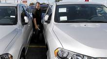 Sales of new cars and trucks have slowed in the past two quarters in Canada, the U.S. and Mexico. AP Photo/Paul Sancya (Paul Sancya/AP)