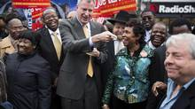 Bill de Blasio will become New York's first Democratic mayor in 20 years. (DAMON WINTER/NYT)