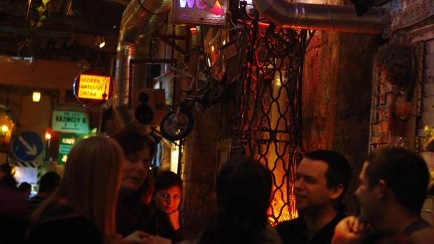 Szimpla Kert was the first of Budapest's 'ruin pubs,' set up in formerly abandoned buildings. (BERNADETT SZABO/REUTERS)