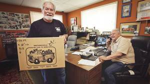 Four months after the company restructured its finances, business is on the upswing for Mike the Mover. As of late April, sales are up 28 per cent over last year and the two partners, Monty Carodonna, left, and George Anastasakos, hope to break even this year.
