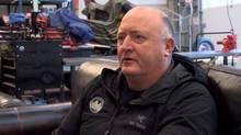 Tim Jones is shown in a screengrab from an interview in December, 2013. He was a tireless spokesman for back-country safety on Vancouver's North Shore mountains. (Justin Smallbridge/THE CANADIAN PRESS)