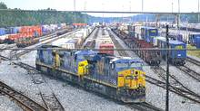 U.S. regulators are failing to refer serious safety violations involving freight rail shipments of crude oil and other hazardous cargo for criminal prosecution, according to a report Friday by a government watchdog. (Lori Moffett/Bloomberg)