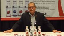 Keith Harris, co-founder of Ontario-based KiKi Maple Sweet Water.