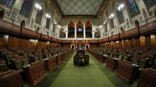 The House of Commons is pictured on April 9, 2013 on Parliament Hill in Ottawa. (Dave Chan For The Globe and Mail)