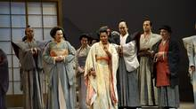 A scene from the Canadian Opera Company's 2009 production of Madama Butterfly, to be remounted in Toronto as part of the 2014-15 season. (Michael Cooper)