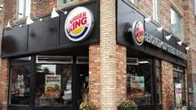 A Burger King franchise is seen in Toronto on Tuesday. (Chris Young/The Canadian Press)