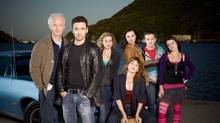 The cast of CBC's The Republic of Doyle. (copyright Kharen Hill 2009)