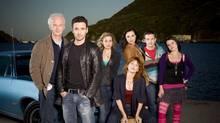 The cast of CBC's The Republic of Doyle. (copyright Kharen Hill 2009)