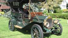 Neil Butters's 1910 Model 8 will be on display in Port Hope this Saturday. (Bob English for The Globe and Mail)