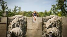 Kids play in the water at Hastings Park in Vancouver July 31, 2013. (John Lehmann/The Globe and Mail)