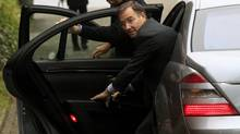 Glencore CEO Ivan Glasenberg gets out of a car as he arrives before an extraordinary shareholder meeting in the Swiss town of Zug Nov. 20, 2012. Shareholders in miner Xstrata are expected to give the green light on Tuesday to a long-awaited $31-billion takeover by commodities giant Glencore , paving the way for one of the largest tie-ups in the sector to date. (ARND WIEGMANN/REUTERS)