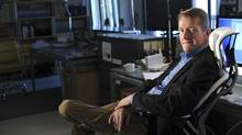 Author Lee Child sits in his writing studio in New York, in 2012. Jack Reacher: Never Go Back hits movie theatres this week, as a sequel to 2012's Jack Reacher. (JENNIFER S ALTMAN/NYT)