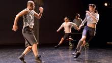 Toronto Dance Theatre performs Martingales, choreographed by Christopher House. (Guntar Kravis)