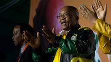 Analysts expect South Africa's four biggest banks to remain profitable despite recent downgrades and President Jacob Zuma's (pictured) firing of finance minister Pravin Gordhan in March. (JAMES OATWAY/REUTERS)