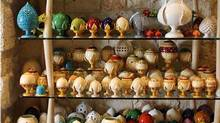 This antique shop in Ostuni has one of the largest collections of Puglia, ranging from suggestive jugs with the secret to pumas, to pupae and capase. (handout)