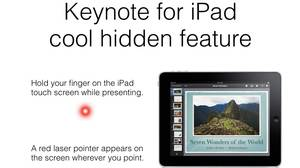 Keynote for iPad app screen grab.