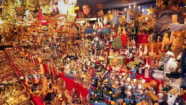 An ornament stall in Regensberg. (Catherine Dawson March/The Globe and Mail)