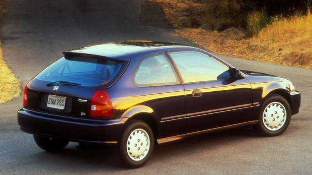 1. Honda Civic (Pre-2000). (1997 Honda Civic DX Hatchback pictured) (Honda)